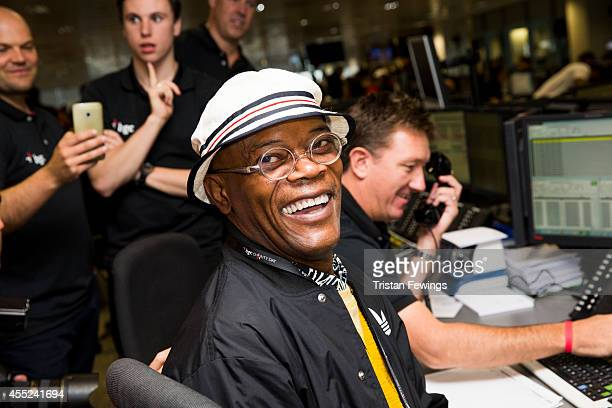 Samuel L Jackson attends the annual BGC Global Charity Day at BGC Partners on September 11 2014 in London England