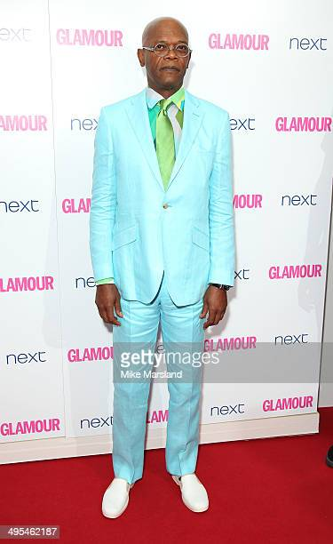Samuel L Jackson attends the Glamour Women of the Year Awards at Berkeley Square Gardens on June 3 2014 in London England