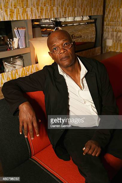 Samuel L Jackson attends the GQ and LCM Party during the London Collections Men SS15 on June 17 2014 in London England