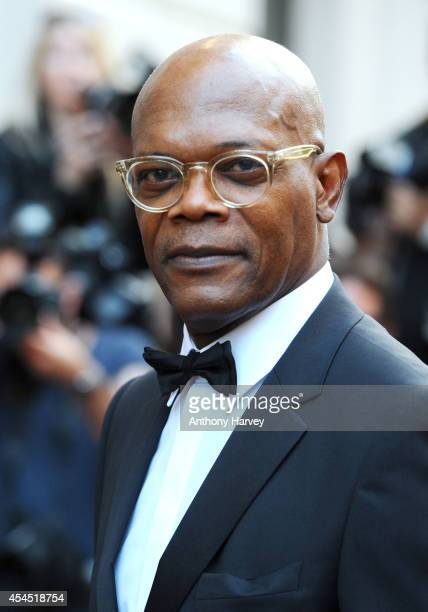 Samuel L Jackson attends the GQ Men of the Year awards at The Royal Opera House on September 2 2014 in London England