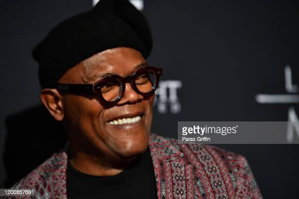 "Samuel L. Jackson attends ""The Last Full Measure"" Atlanta red carpet screening at SCADshow on January 20, 2020 in Atlanta, Georgia."