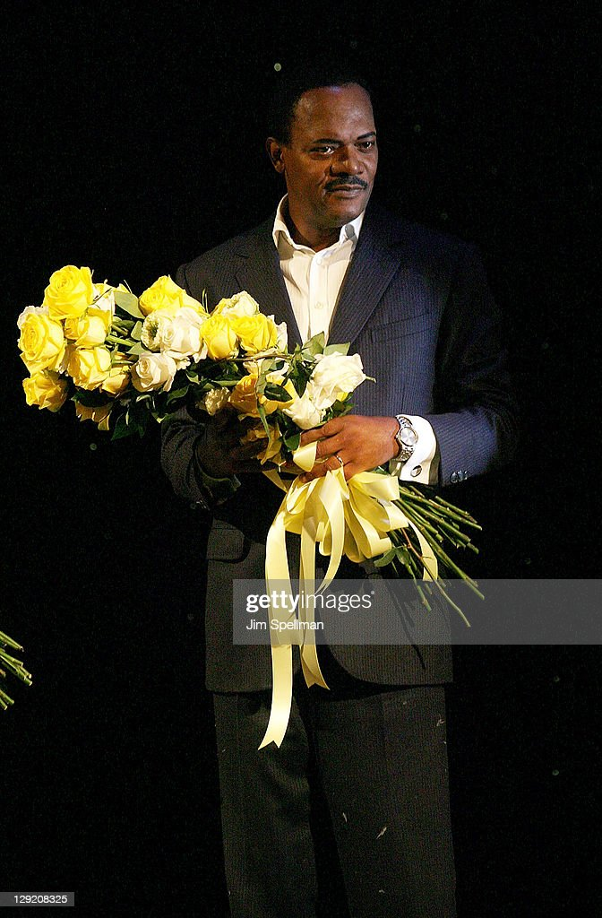 Samuel L. Jackson attends 'The Mountaintop' Broadway opening night at The Bernard B. Jacobs Theatre on October 13, 2011 in New York City.
