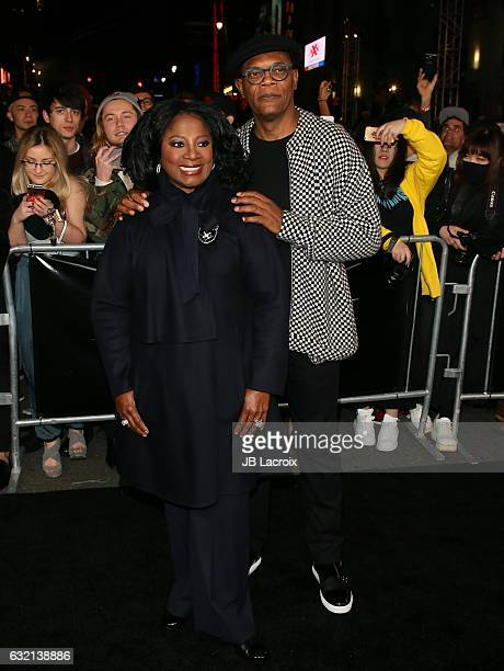 Samuel L Jackson attends the premiere of Paramount Pictures' 'xXx Return Of Xander Cage' on January 19 2017 in Los Angeles California