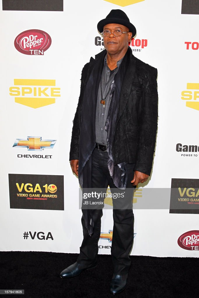 Samuel L. Jackson attends the Spike TV's 10th Annual Video Game Awards at Sony Studios on December 7, 2012 in Los Angeles, California.