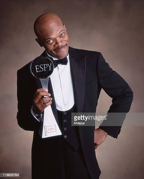 Samuel L Jackson during 2001 ESPY Awards Samuel L Jackson Host in New York City New York United States
