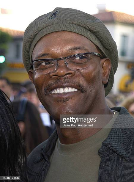 Samuel L Jackson during 'XXX' Premiere in Los Angeles at Mann's Village in Westwood California United States