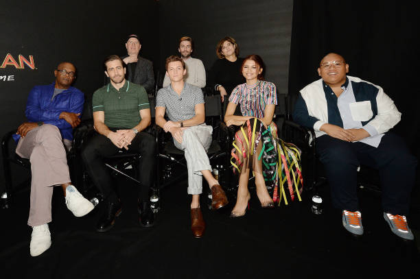 GBR: Spider-Man: Far From Home Facebook Live Photo Call