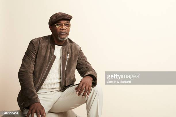 Samuel L Jackson poses for portrait session at the 2017 Film Independent Spirit Awards on February 25 2017 in Santa Monica California