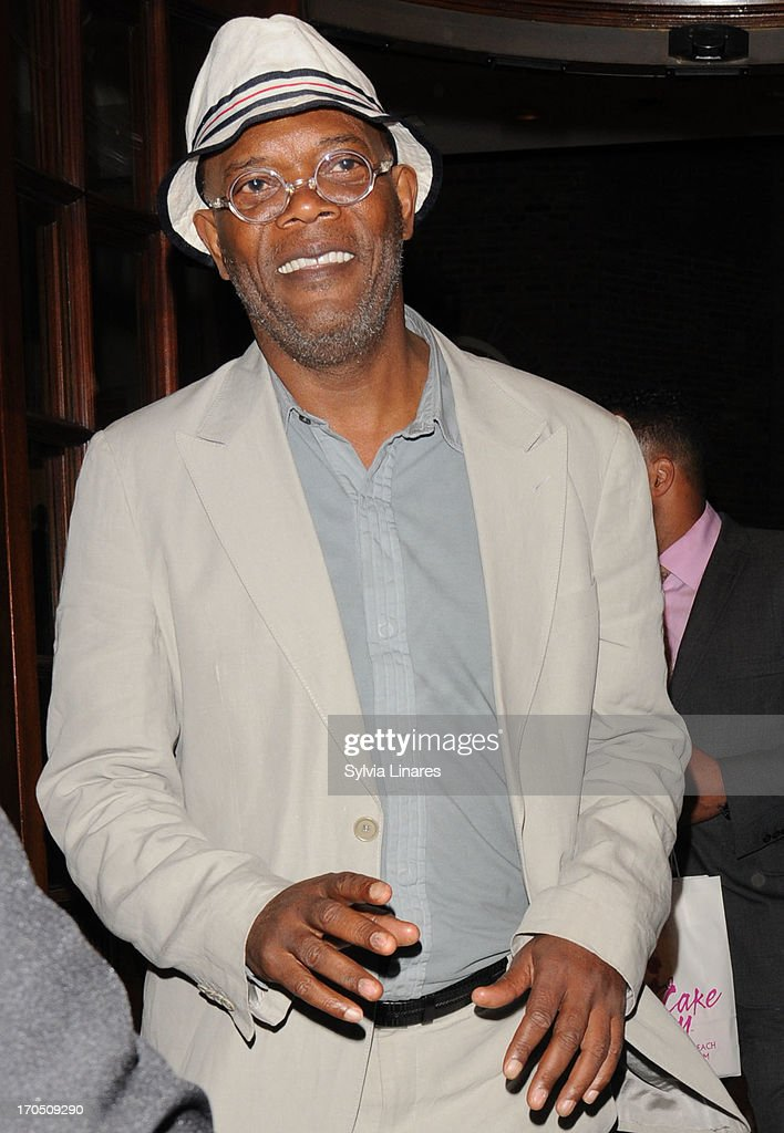 Samuel L. Jackson sighting on June 13, 2013 in London, England.