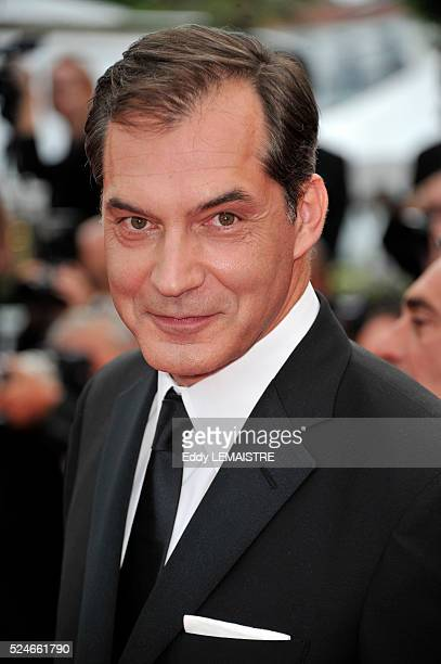 Samuel Labarthe at the premiere of The Conquest during the 64th Cannes International Film Festival