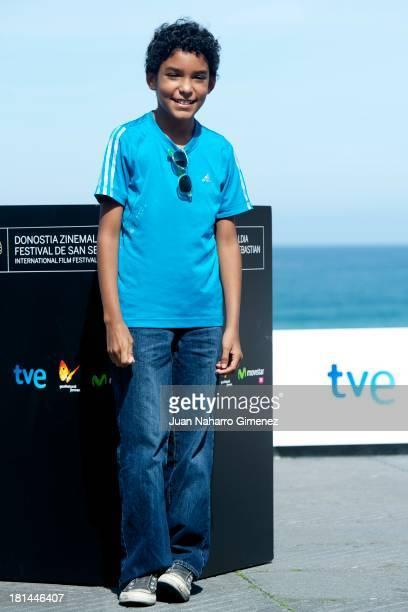 Samuel Lange Zambrano attends 'Pelo Malo' photocall at Kursaal during 61st San Sebastian Film Festival on September 21 2013 in San Sebastian Spain