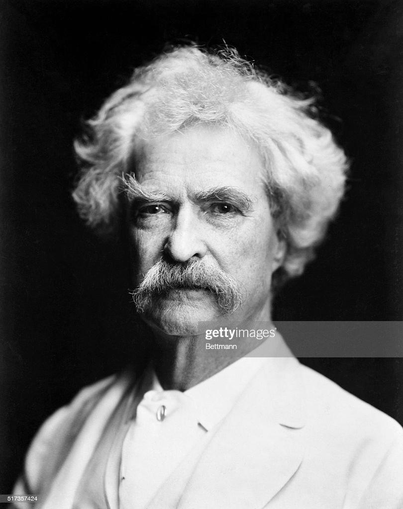 Mark Twain : News Photo