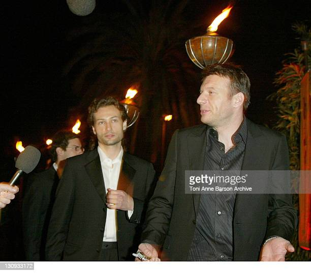 Samuel Le Bihan during 2004 Cannes Film Festival 'Kill Bill Vol2' After Party in Cannes France