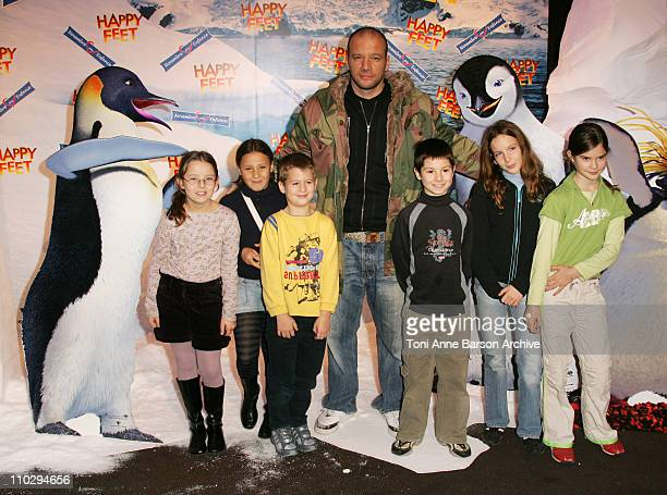 Samuel Le Bihan during 'Happy Feet' Paris Premiere Arrivals at Gaumont Marignan Theater in Paris France