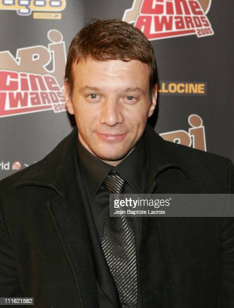 Samuel Le Bihan during NRJ Cine Award 2005 at Grand Rex in Paris France