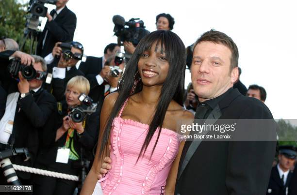 Samuel Le Bihan Wife during 2003 Cannes Film Festival 'Les Egares' Premiere at Palais Des Festival in Cannes France