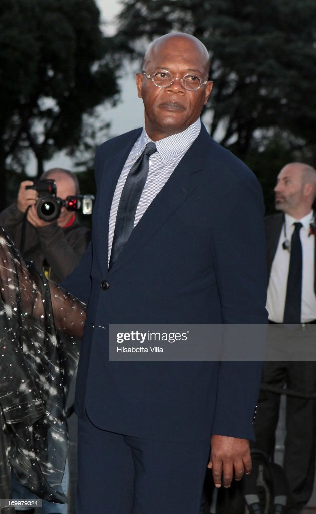 Samuel Lee Jackson attends 'One Night Only' Roma hosted by Giorgio Armani at Palazzo Civilta Italiana on June 5, 2013 in Rome, Italy.