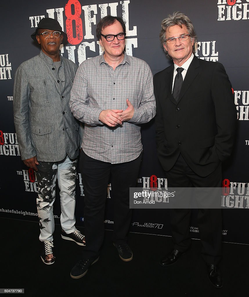 The Hateful Eight Australian Premiere - Arrivals