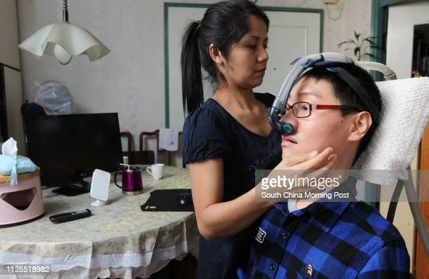 Samuel Lo Siu-fung, 29 years-old suffers from spinal muscular atrophy since the age 6, and has been in a wheelchair since 12. He need to use a...