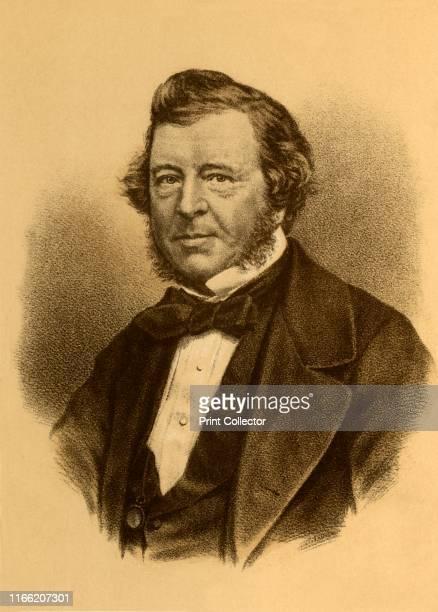"Samuel Lover', circa 1850, . Samuel Lover , also known as ""Ben Trovato"" Irish songwriter, composer, novelist, and painter. [Blackie & Son, London,..."