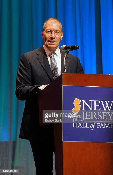 Samuel Newhouse Jr attends The 5th Annual New Jersey Hall Of Fame Induction Ceremony at New Jersey Performing Arts Center on June 9 2012 in Newark...