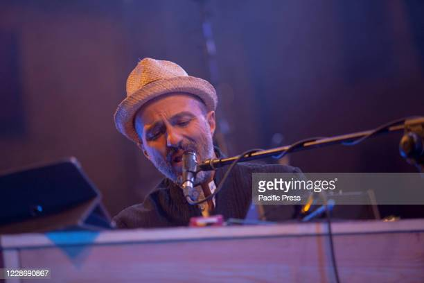 Samuel of Subsonica live at Ferrara. Samuel brought on the stage of the Ferrara summer festival an electronic journey that song after song has...