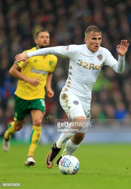 Samuel Saiz of Leeds United during the Sky Bet Championship match between Norwich City and Leeds United at Carrow Road on April 28 2018 in Norwich...