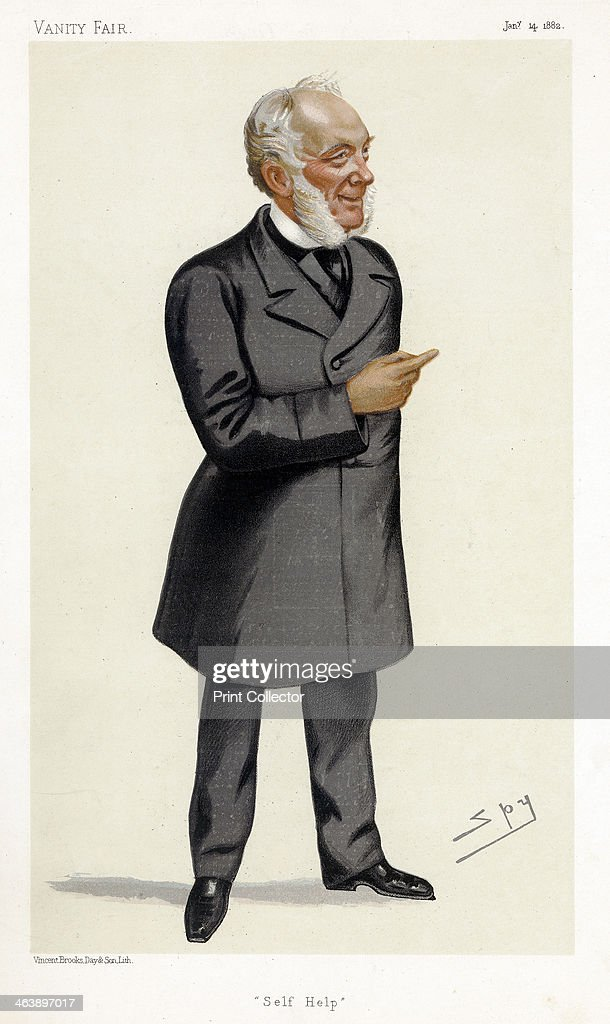 Samuel Smiles, Scottish writer, physician, surgeon and social reformer, 1882. Artist: Spy : News Photo