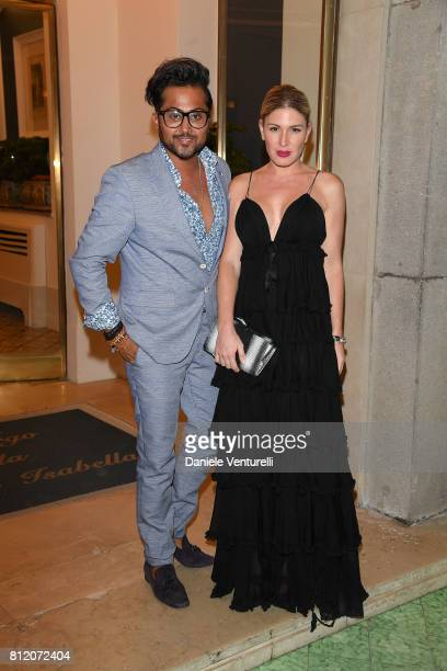 Samuel Sohebi and Hofit Golan attends 2017 Ischia Global Film Music Fest on July 10 2017 in Ischia Italy