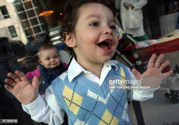 Samuel Staffenberg is a guest at twins party Formerly conjoined twins Carl and Clarence Aguirre celebrated their fifth birthday today at a party...