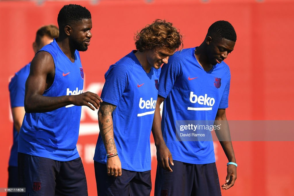 FC Barcelona Pre-Season Training Session : News Photo