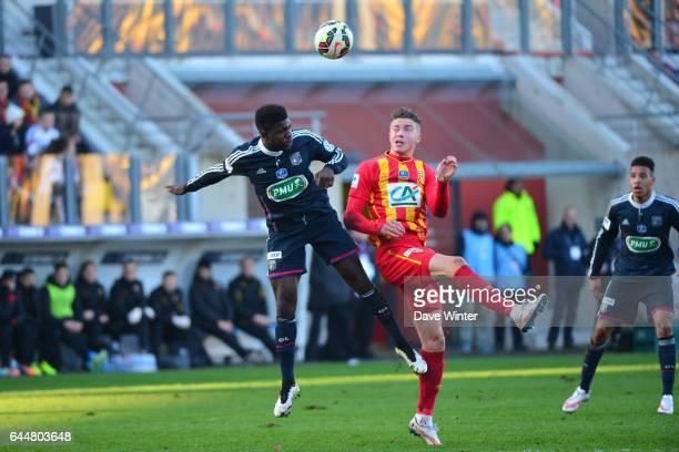 Samuel UMTITI / Baptiste GUILLAUME Lens / Lyon Coupe de France Photo Dave Winter / Icon Sport