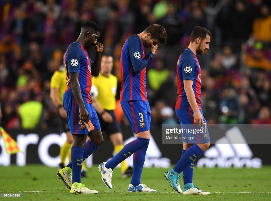 FC Barcelona v Juventus - UEFA Champions League Quarter Final: Second Leg : News Photo
