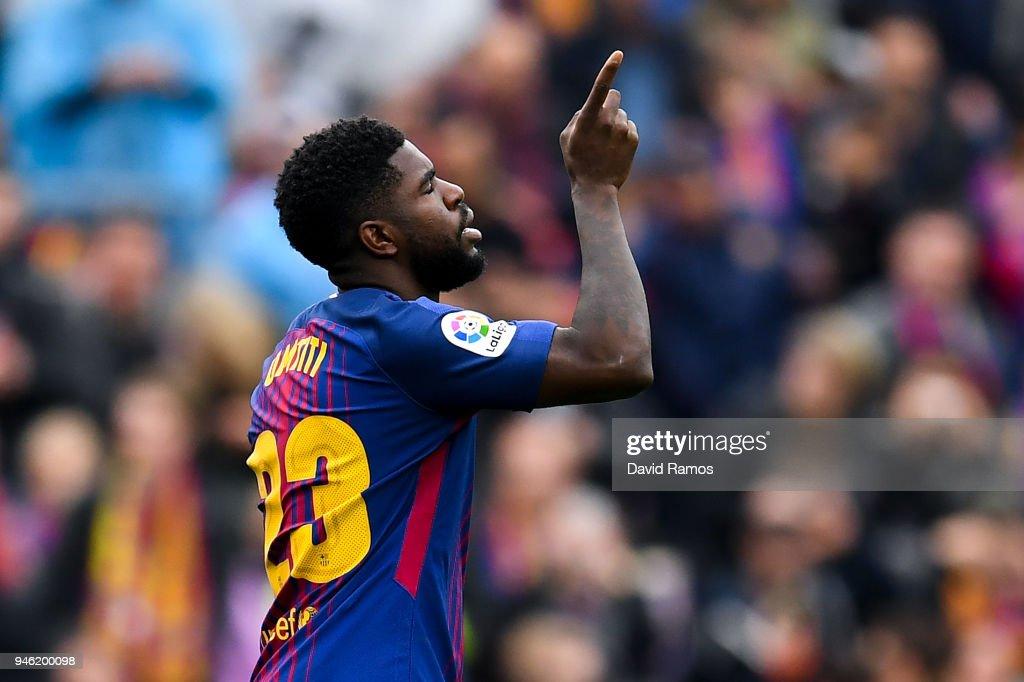 Barcelona v Valencia - La Liga : News Photo