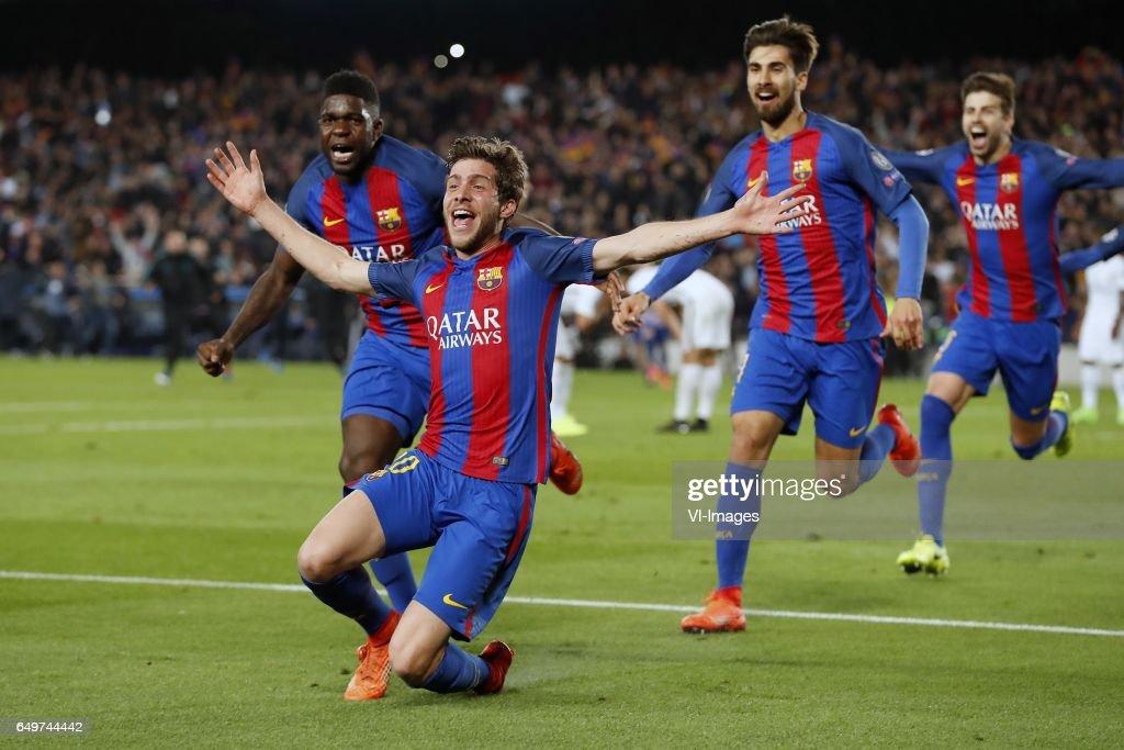 "UEFA Champions League""FC Barcelona v Paris Saint Germain"" : News Photo"