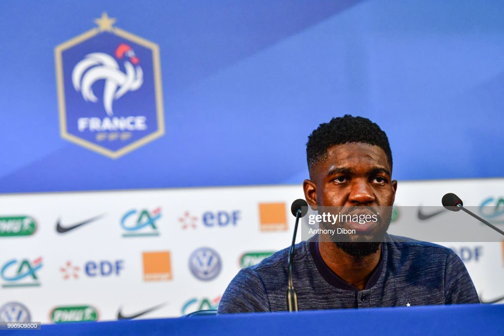 Training and Press Conference France - FIFA World Cup 2018