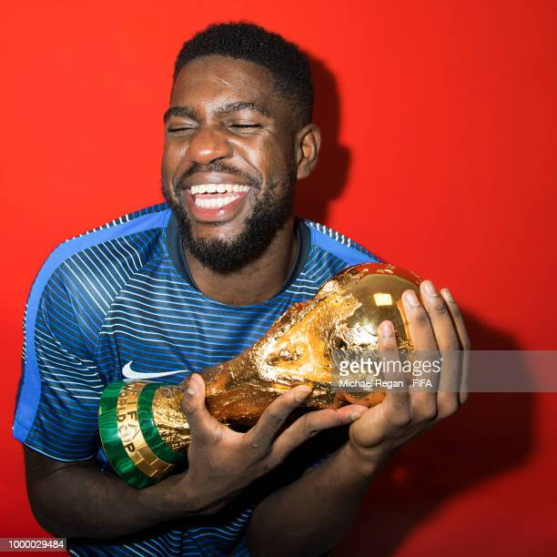 World Cup Champions France Portrait Session Stock Pictures ...