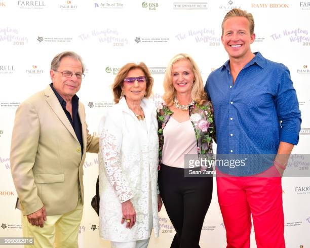 Samuel Waxman MD Marion N Waxman Ann Liguori and Chris Wragge attend The Samuel Waxman Cancer Research Foundation 14th Annual The Hamptons Happening...
