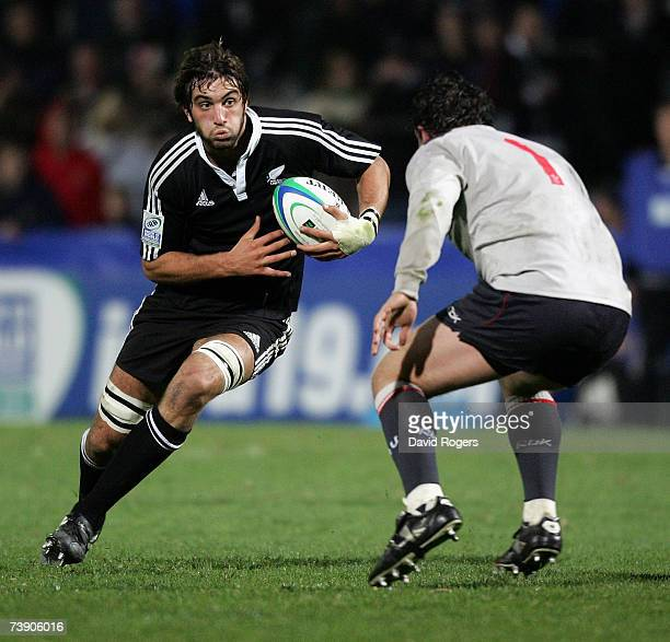 Sam Whitelock Breaks A Tackle: Irb U19 World Championships Stock Photos And Pictures