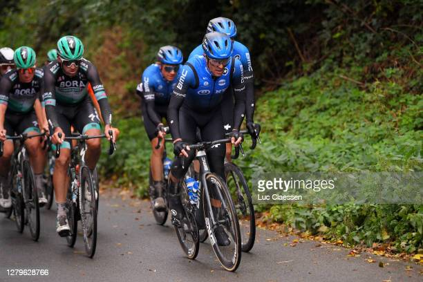 Samuele Battistella of Italy and NTT Pro Cycling Team / during the 82nd Gent-Wevelgem In Flanders Fields 2020, Men Elite a 232,5km race from Ypres to...