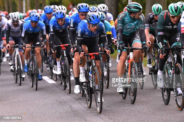 Samuele Battistella of Italy and NTT Pro Cycling Team / Rasmus Fossum Tiller of Norway and NTT Pro Cycling Team / Peloton / during the 108th...