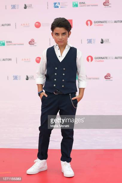 "Samuele Carrino attends ""Spaccapietre"" at the ""Giornate degli Autori"" during the 77th Venice Film Festival on September 07, 2020 in Venice, Italy."