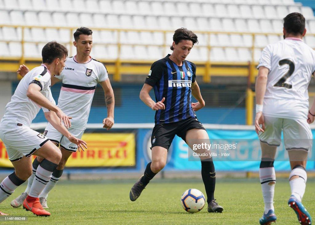 ITA: FC Internazionale U19 v US Citta di Palermo U19 - Serie A Primavera