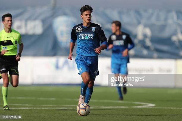 Samuele Ricci of Empoli FC U19 during the match between Empoli U19 and Juventus U19 on December 1 2018 in Empoli Italy