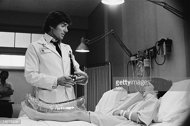 ST ELSEWHERE Samuels and the Kid Episode 5 Pictured David Birney as Dr Ben Samuels Jeremy Licht as Robbie Durant Photo by Gary Null/NBCU Photo Bank
