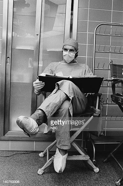 ST ELSEWHERE Samuels and the Kid Episode 5 Pictured David Birney as Dr Ben Samuels Photo by Gary Null/NBCU Photo Bank