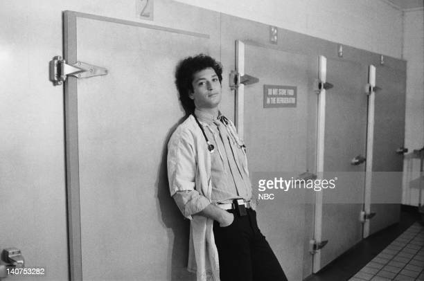 ST ELSEWHERE Samuels and the Kid Episode 5 Pictured Howie Mandel as Dr Wayne Fiscus Photo by Jack Hamilton/NBCU Photo Bank