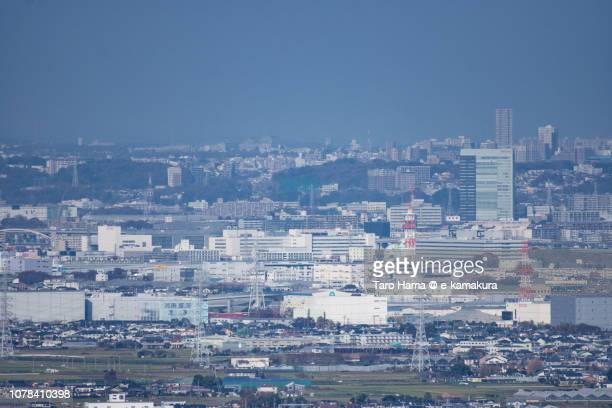 Samukawa town and Fujisawa city in Kanagawa prefecture in Japan