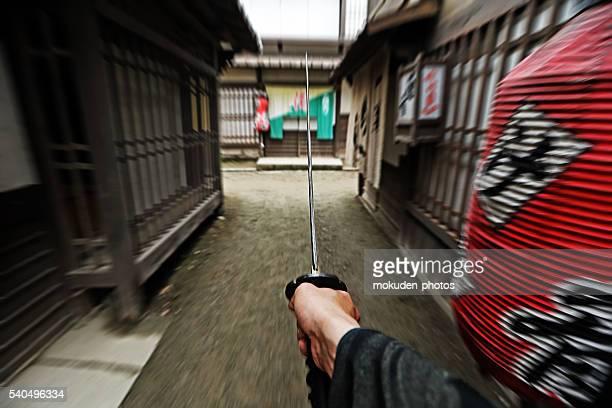 samurai fight eyes of the samurai - lypsekyo16 stock pictures, royalty-free photos & images