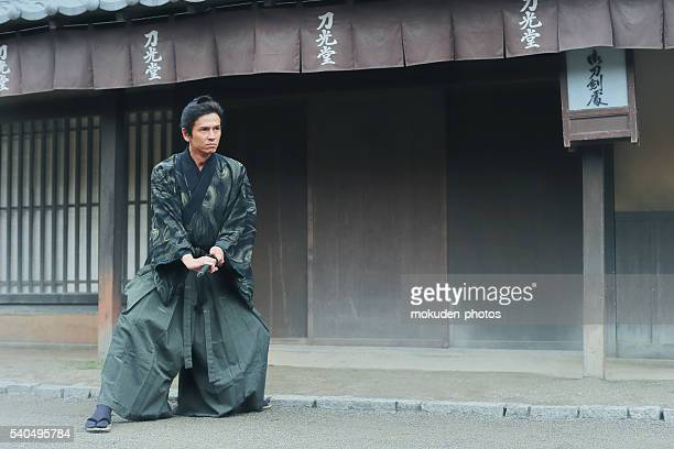 samurai fight security - lypsekyo16 stock pictures, royalty-free photos & images